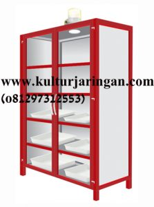 Chemical-storage cabinet