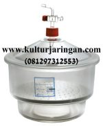 desiccator with glass stopper