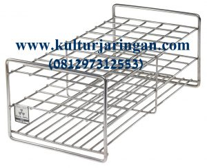 test tube rack (stainless steel)